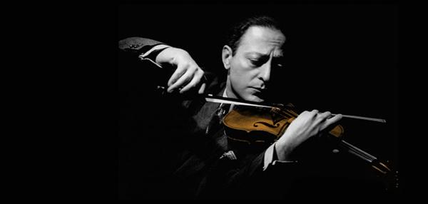 Postura violín Heifetz