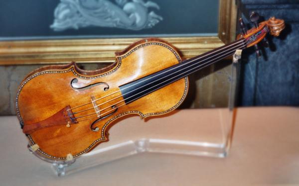 violín Stradivarius Palacio Real