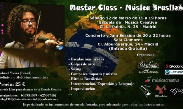 Masterclass de música brasileña
