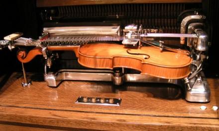 Violano, la máquina de tocar el violín.