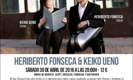 Recital de Heriberto Fonseca y Keiko Ueno