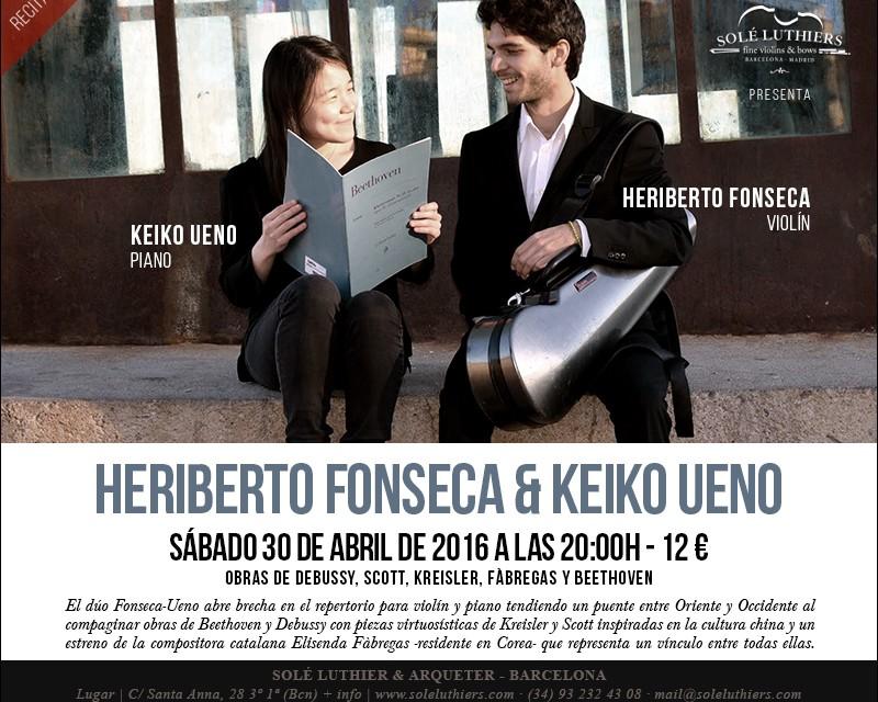 Concierto de Heriberto Fonseca y Keiko Ueno