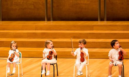 Curso de violín para niños de 14 meses a 3 años en Alicante