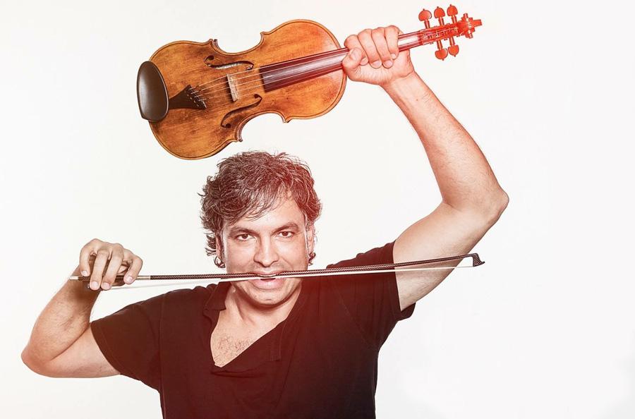 Oriol Saña en Bellaterra Fiddle Camp