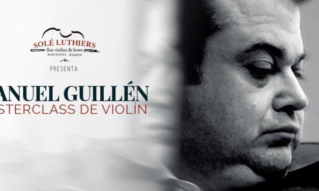 Masterclass de Manuel Guillén