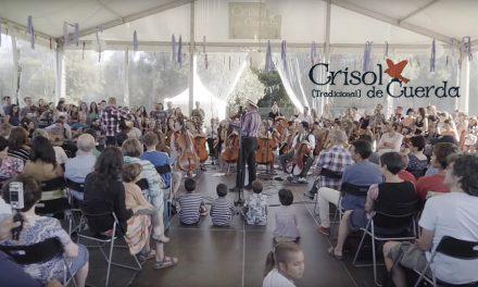 Concierto final del campamento musical Crisol de Cuerda