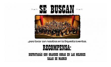 Evento expirado:La Orquesta Iuventas selecciona instrumentistas de cuerda