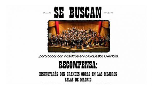 La Orquesta Iuventas selecciona instrumentistas de cuerda