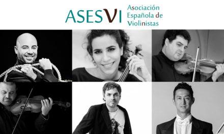 La Asociación Española de Violinistas (ASESVI) convoca su primeras jornadas.