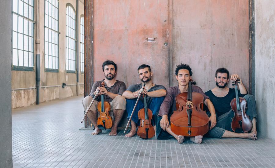 Aupa Quartet en Bellaterra Fiddle Camp