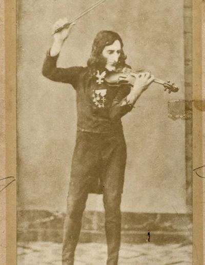 Falso daguerrotipo de Paganini, 1900