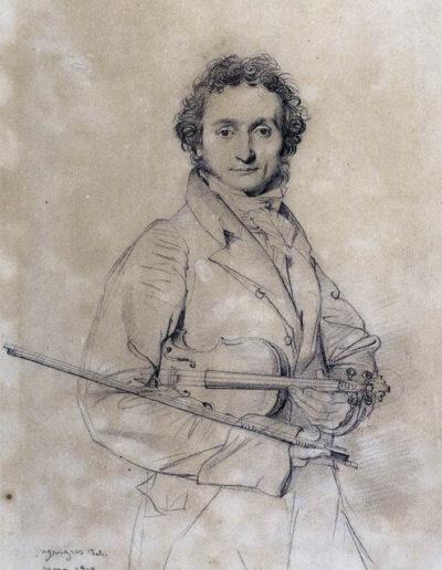 Niccolo Paganini por, Ingres