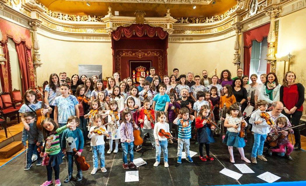 Evento expirado:Violín Folk para niños y padres con el proyecto Sementeira