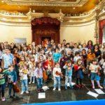 Violín Folk para niños y padres con el proyecto Sementeira