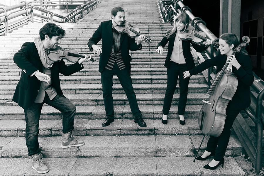 Concierto del Cuarteto Bauhaus en Violines de Luthier