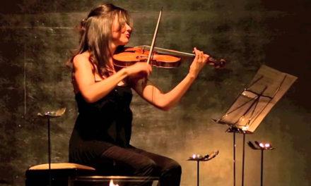 Masterclass de violín barroco en Gijón, por Lina Tur Bonet