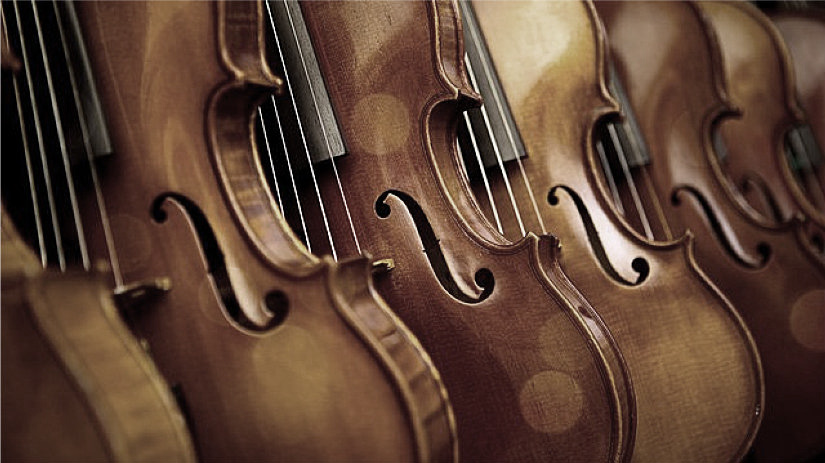 Exposición de instrumentos antiguos en Violines de Luthier