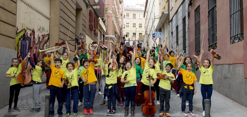 El programa de educación musicosocial DaLaNota necesita donaciones de instrumentos.