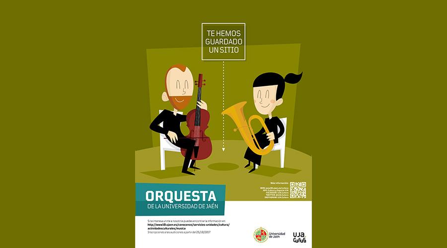 Evento expirado:Audiciones para formar parte de la Orquesta de la Universidad de Jaén