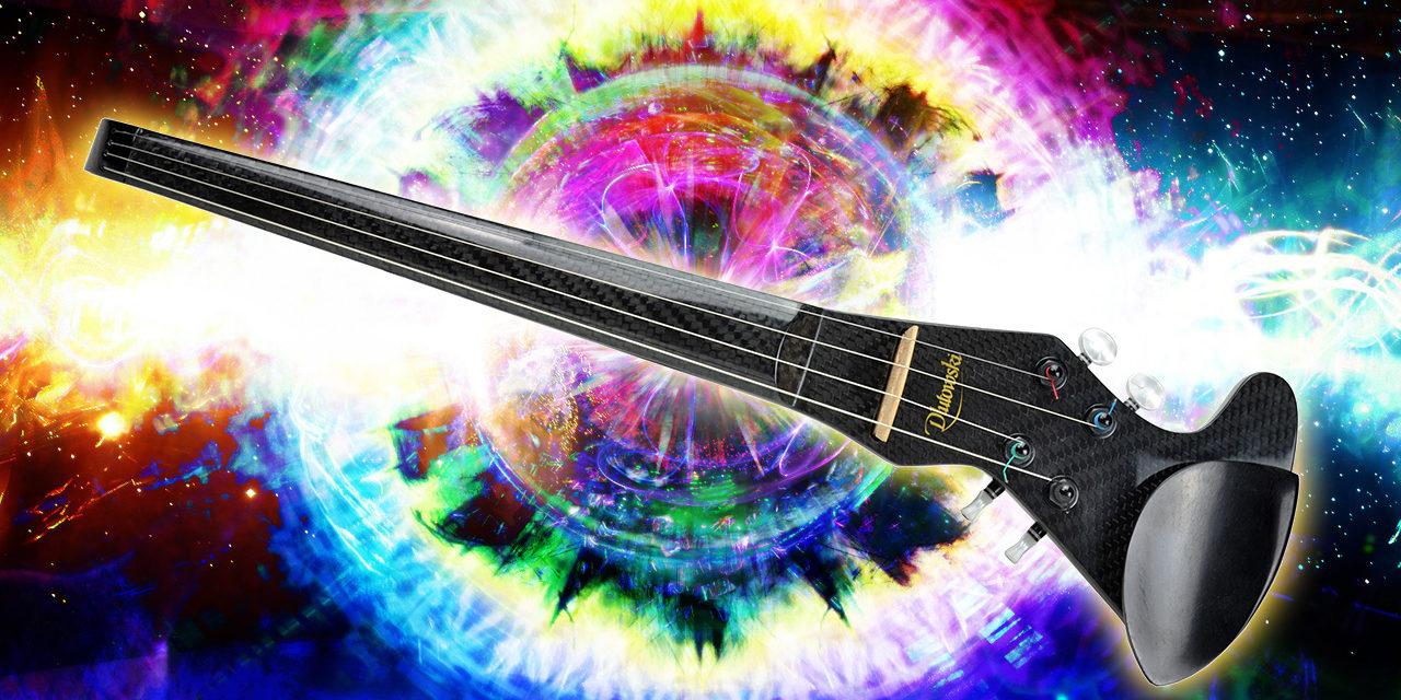 Guía de uso del violín eléctrico.