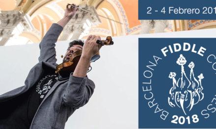 Abiertas las inscripciones para el Barcelona Fiddle Congress 2018
