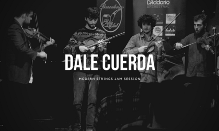 Clase magistral de violín jazz en Barcelona