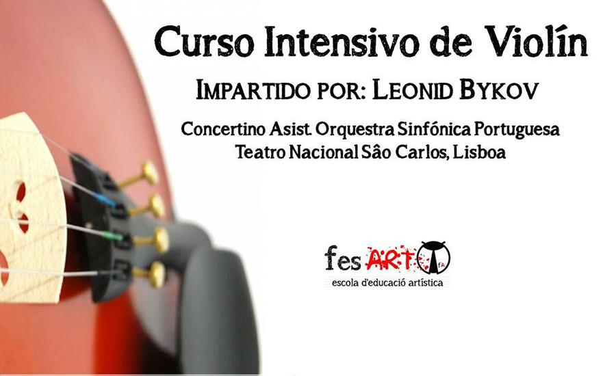 Evento expirado:Curso intensivo de violín en Valencia, por Leonid Bykov