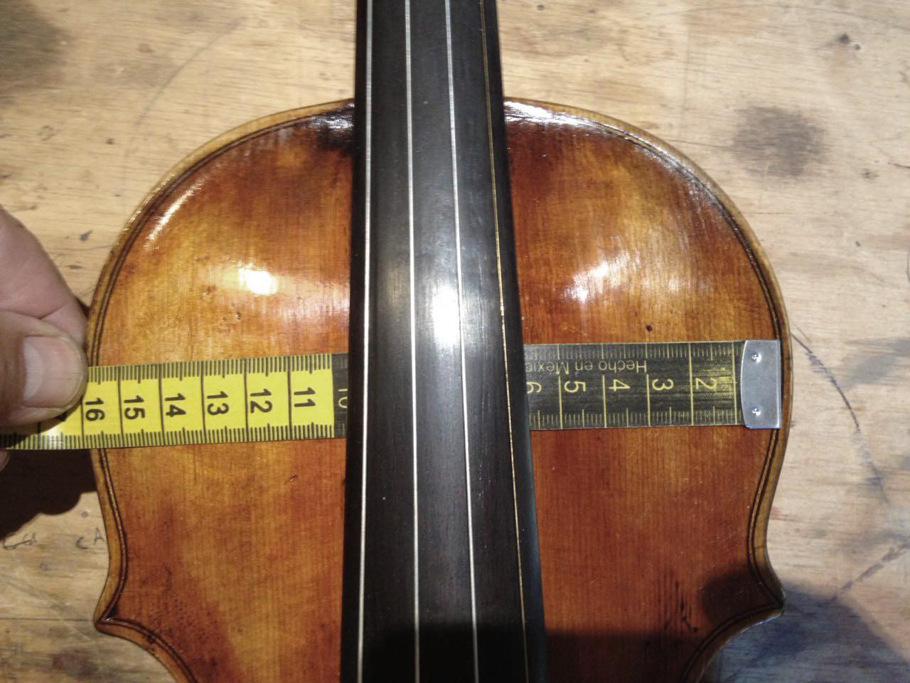 violín clásico sin cuña