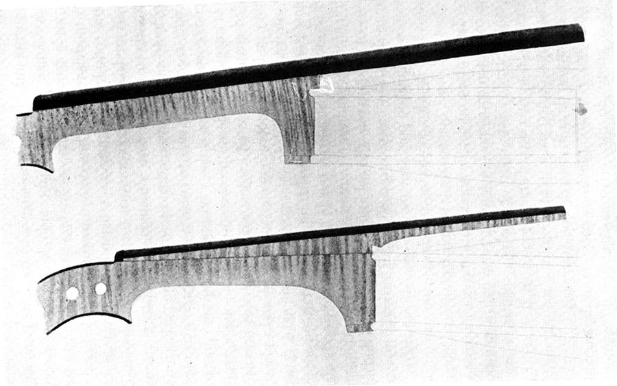 violín barroco y violín moderno