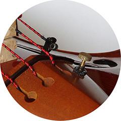 microafinador en cuerda Mi