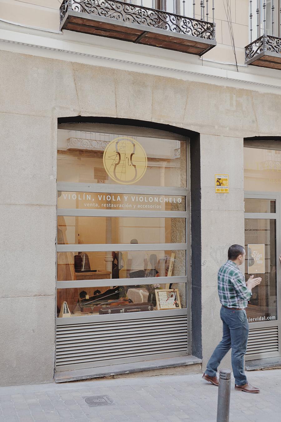 tienda Luthier Vidal