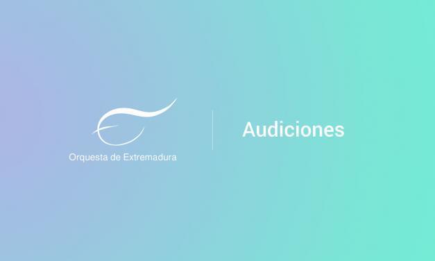 Evento expirado:Audiciones a viola tutti en la Orquesta de Extremadura