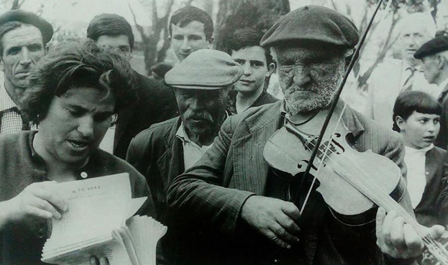 violinista ciego
