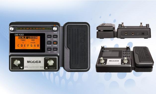 Probando el pedal multi-efectos y looper Mooer GE-100
