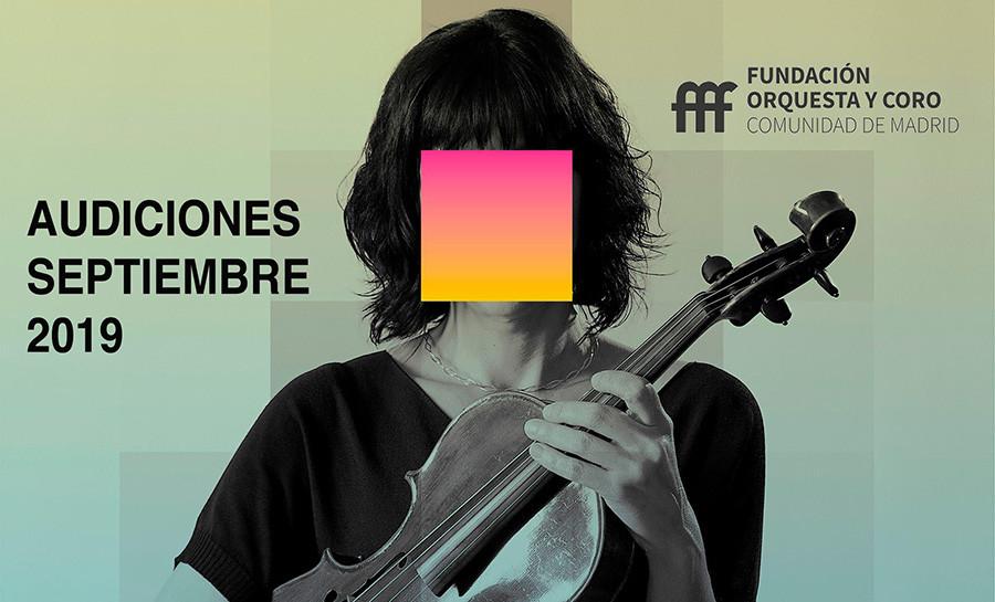 La Fundación Orquesta y Coro de Madrid convoca audiciones