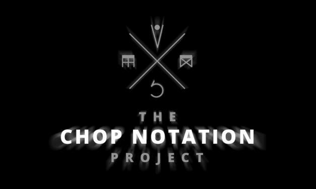 """The Chop Notation Project"", el mapa definitivo de la técnica ""chop"""