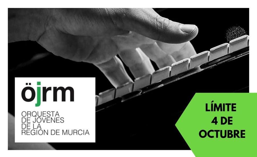 La Orquesta de Jóvenes de la Región de Murcia (OJRM) convoca pruebas selectivas.