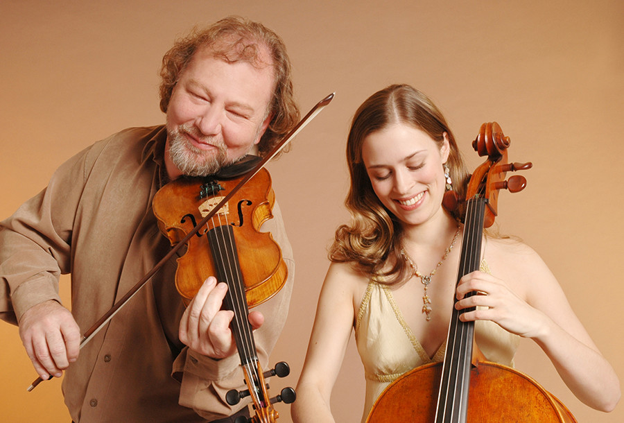 Taller de música escocesa, con Alasdair Fraser y Natalie Haas
