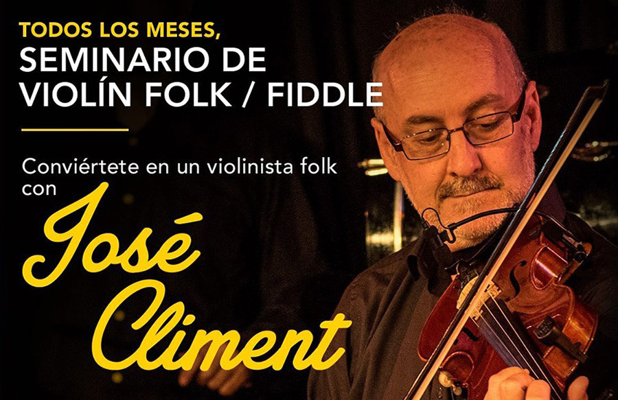 Seminario de violín folk con José Climent