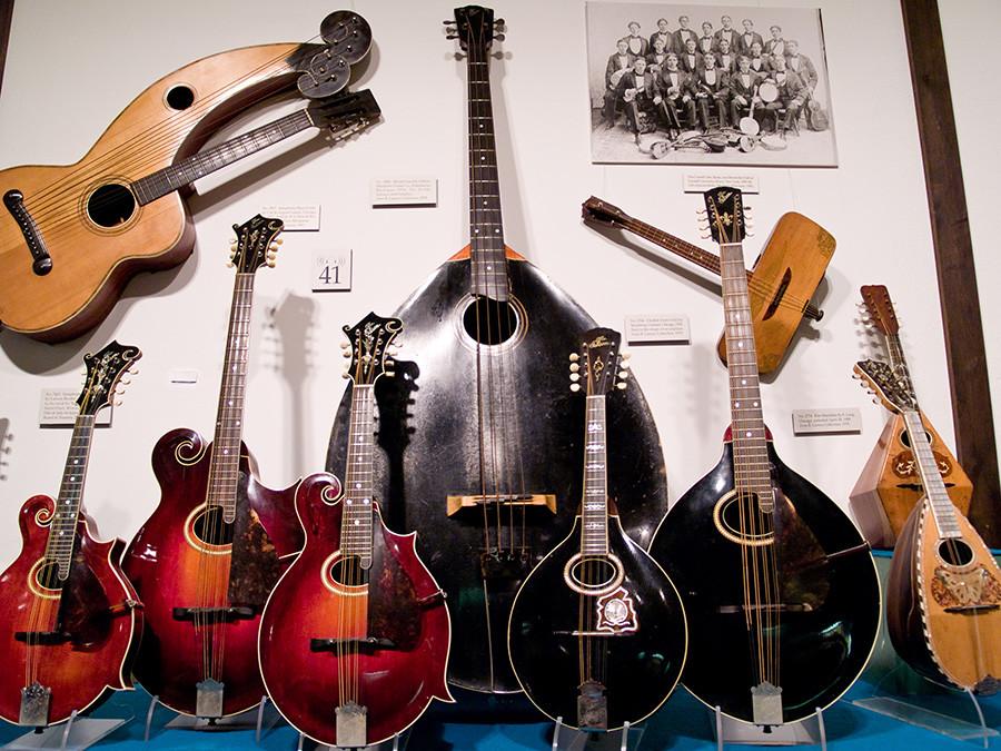 La familia de mandolinas Gibson