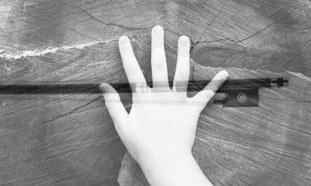 La mano derecha en el violín