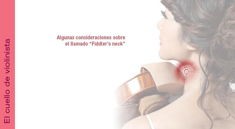 El cuello del violinista