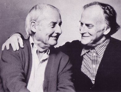 Yehudi Menuhin and Stephan Grappelli