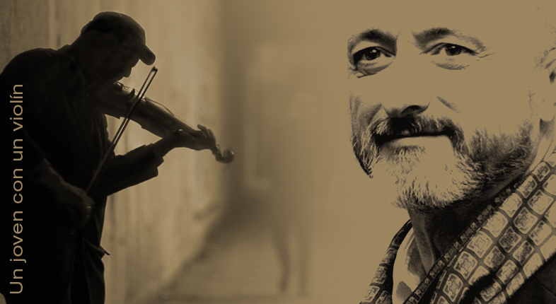 Un joven con un violín, de A. Pérez-Reverte