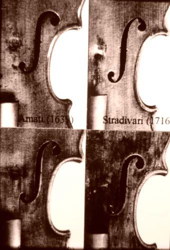 Diferencias entre violines