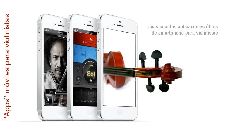 """""""Apps"""" para violinistas"""