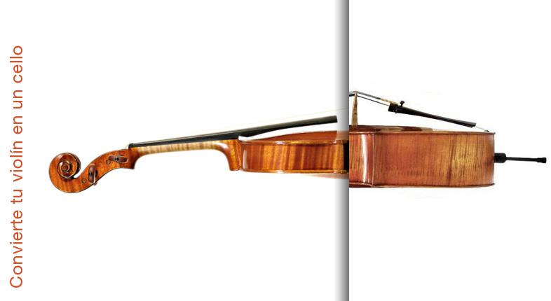 Cómo convertir tu violín en un mini-chelo