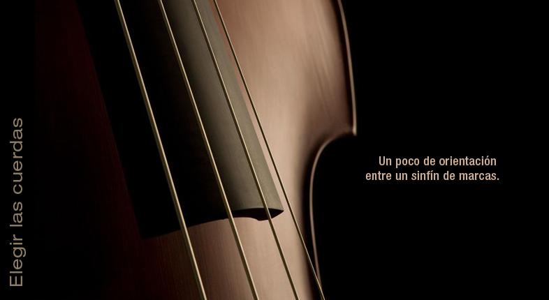 Elegir las cuerdas del violín
