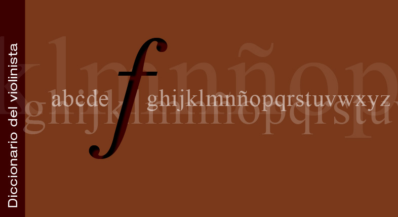 Diccionario del violinista