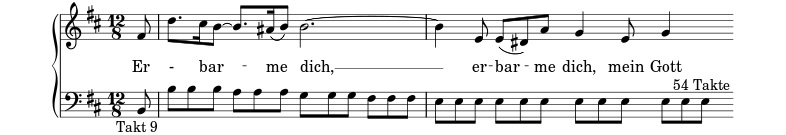 Erbarme Dich  |  J. S. Bach